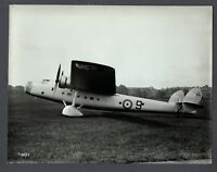 BRISTOL BOMBAY K9583 ORIGINAL LARGE MANUFACTURERS PHOTO RAF
