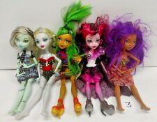 MONSTER HIGH 5 DOLL Lot Bundle MH Rare Mattel Clothes Accessories Halloween # 3