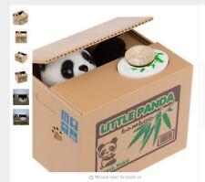 Tirelire Boîte Panda Voleur D'argent