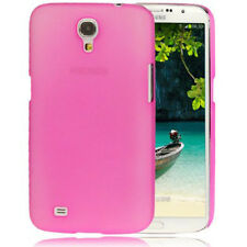 Hardcase Pure Colour für Samsung i9200 Galaxy Mega 6.3 Frosted pink Hülle Cover