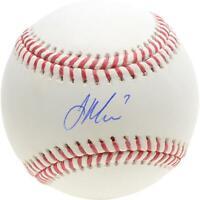 Joe Mauer Minnesota Twins Autographed Baseball Fanatics Authentic Certified