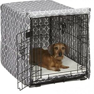 BRAND NEW - LARGE Quiet Time Crate Cover (42Lx28Wx30H inches). Stain Resistant