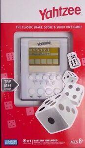 YAHTZEE ELECTRONIC HAND HELD DICE GAME BRAND NEW!