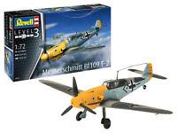 Messerschmitt Bf109 F-2 Plastic Kit 1:72 Model 03893 REVELL