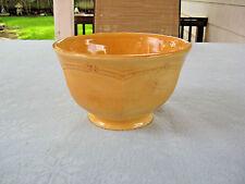 """Daniel Cremieux Maison St. Remy """"Golden Apricot""""  France 6 1/2"""" Bowl"""
