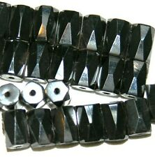 500 Magnetic Hematite Beads Lot Strong Power Faceted Black
