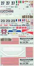 Colorado Decals 1/24 PORSCHE 911 GT1 Le Mans 1997 Cars #27 & #29