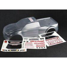Traxxas 3915 E-Maxx & E-Maxx Brushless Clear Pre-Cut Body with Decals TRA3915