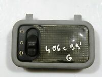 PEUGEOT 406 COUPE 1997 LHD REAR INTERIOR ROOF READING LIGHT 9610095677
