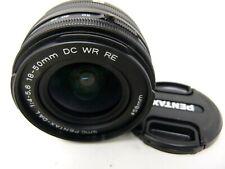 PENTAX 18-50 mm f/4-5.6 DA-L DC WR RE Lens-Used