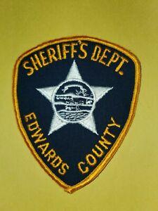 KANSAS, EDWARDS COUNTY SHERIFF'S DEPT PATCH