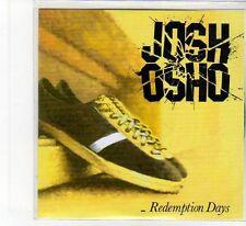 (FB89) Josh Osho, Redemption Days - 2012 DJ CD