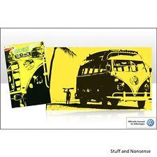VW Camper asciugamani 100% COTONE godersi la corsa stampa Volkswagen Camper idea regalo