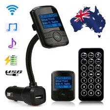 LCD Car Kit MP3 Bluetooth Player FM Transmitter Modulator SD USB Handsfree AU
