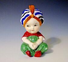 "Rare! Royal Doulton Porcelain Figurine Hn 587 ""Boy with Turban"" 1923-1936"