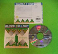 CD CROSBY STILLS NASH & YOUNG Holland ROCKSTAR IN CONCERT no lp dvd mc (CS66)