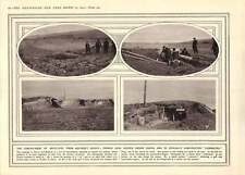 1915 Hiding Guns From Aircraft Scouts France And Belgium