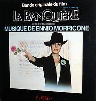 OST  LA BANQUIERE    LP  ENNIO MORRICONE G.C.    1980
