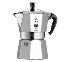 Bialetti Moka Express 2 Cups Coffee Maker - Silver