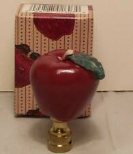 Darling Red Apple Finial New in Box