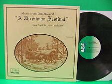 Music From Lindenwood A Christmas Festival Gary Beard LP USC 11276 Memphis TN