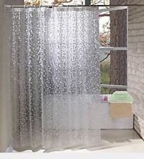 Eurcross Cobblestone Shower Curtain,Anti Mould Weighted Hem with 3 Magnets