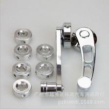 Aluminum NEW silver chrome Car Window Winders/Door Cranks Handles Universal L/R