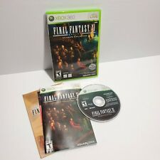 Final Fantasy XI Online -Ultimate Collection (Microsoft Xbox 360, 2009) COMPLETE