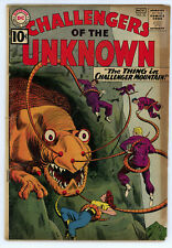 JERRY WEIST ESTATE: CHALLENGERS OF THE UNKNOWN #22 & 28 (DC 1961-62) NR