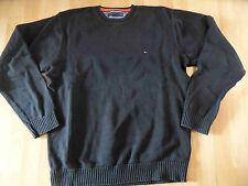 TOMMY HILFIGER Basic BW Pullover schwarz Gr. XL TOP  516