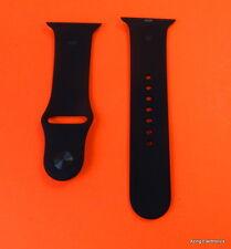 Genuine Apple Watch Sport Band Strap 42mm S/M BLACK