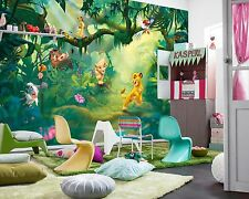 MURALE Parete Foto Carta da parati LION KING Baby Kids Room Decor DISNEY 368x254cm