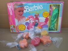 Rara Barbie Sirena Outfit & sea sponges Conjunto de Juego 1990 Mattel Muñeca No no Cisne