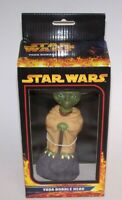 "Star Wars Yoda & Darth Bobble Heads Full Size Over 7"" Comic Images 2005 NIB"