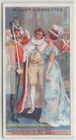 1821 Queen Caroline Refused Admittance To The Abbey 100 Y/O Trade Ad Card