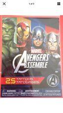 Marvel's Avengers Assemble Temporary Tattoos