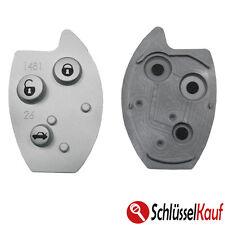 1x Autoschlüssel Tastenfeld 3 Tasten Gummi Pad Ersatz für CITROEN C5 XSARA NEU