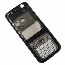 Genuine Original Housing For Nokia N73 - Black Fascia/Lite Brown Chassis