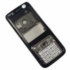 Original Gehäuse für Nokia N73 - Schwarz Blende / Lite Braune Gehäuse