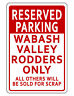 PERSONALIZED RESERVED PARKING SIGN DURABLE ALUMINUM NO RUST CUSTOM TEXT PARKING