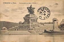 COBLENZ CARTE POSTALE OCCUPATION MILITAIRE FRANCE CACHET CENSORED CENSURE 1919