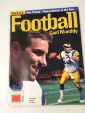 Beckett Football Card Monthly magazine Price Guide Kurt Warner December 1999