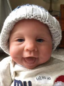 Tatum Noelle by Sandy Faber Baby Boy Doll
