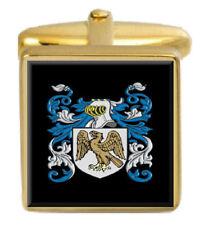 Donaldson Ireland Family Crest Coat Of Arms Heraldry Cufflinks Box Set Engraved