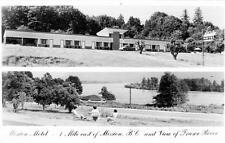 Photo. 1954-6. Mission City, BC Canada.  Mission Motel