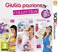 Giulia Passione Collection Moda + Baby Sitter + Stilista 3D Nintendo 3DS IMPORT