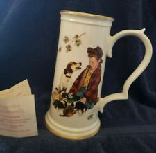 Norman Rockwell, Gorham Limited Edition, The Pride of Parenthood Stein