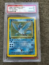 Pokemon Card 1st Edition Fossil ARTICUNO (Holo) 2/62, PSA 10 - GEM MINT