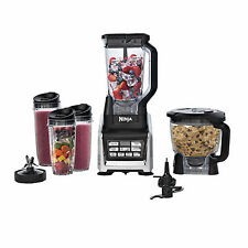 Nutri Ninja Auto-iQ BL680A Blender Duo Food Processor Juicer 1500W 2 HP Motor