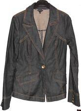 Jolie veste jeans noir/bleu PLEIN SUD JEANIUS T 40 TBE